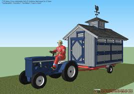 home garden plans t310 chicken trailer plans construction