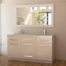 Double Sink Vanity Mirrors Bathrooms Design Unfinished Bathroom Vanities Lowes Vanity