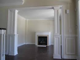 Wall Molding Designs With Fireplace  Decorative Wall Molding - Moulding designs for walls