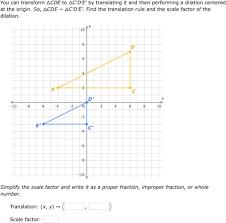 ixl similar triangles and similarity transformations geometry