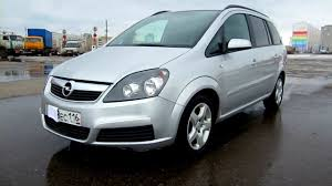 opel zafira 2005 2006 opel zafira start up engine and in depth tour youtube