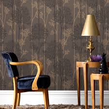 eternal chocolate and bronze wallpaper grahambrownuk