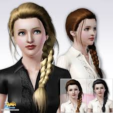 sims 3 custom content hair index of peggy hair f long