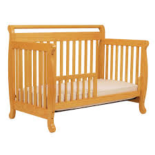 Baby S Dream Convertible Crib by Davinci Emily 4 In 1 Convertible Crib In Honey Oak 179 00