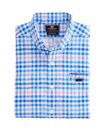 vineyard vines harbor shirt salt island check florida outfitters