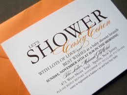 baby shower gift gender neutral orange baby shower invitation2