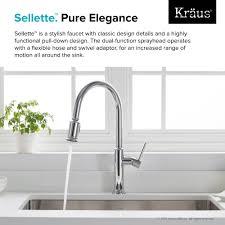 100 Pulldown Kitchen Faucet Sink by Kitchen Faucet Kraususa Com