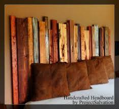 Wooden King Size Headboard by Reclaimed Pallet Wood King Size Headboard Footboard And Frame