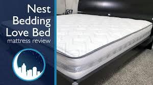 love mattress nest bedding love bed mattress review youtube