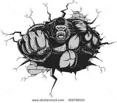 angry gorilla stock images royalty free images u0026 vectors