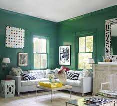 Green Living Rooms Home Design Ideas - Green living room design