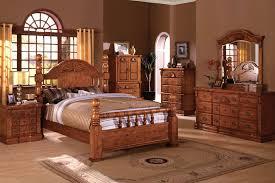 Oak Bedroom Sets Furniture by Solid Oak Bedroom Sets Home Design Styles