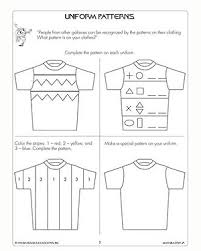 uniform patterns u2013 free u0026 printable math worksheets for 1st grade