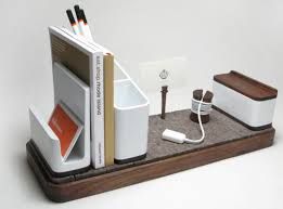 designer desk accessories and organizers kaiju studios i o desk organizer desks modern desk accessories