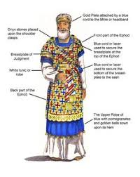 aaron high priest garments exodus 28 illustration of high priest temple robes in ancient