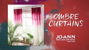 how to tie dye ombre curtains youtube