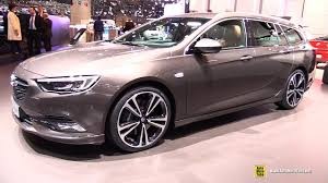 2017 opel insignia sports tourer exterior and interior