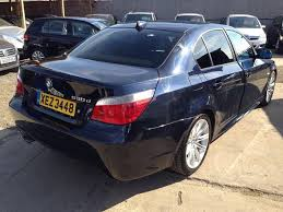 bmw 5 series 530d m sport for sale used bmw 5 series car 2006 black diesel 530d m sport saloon for