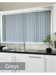 Web Blinds Discount Buy Blinds Online Made To Measure Grey Plain Vertical Blinds