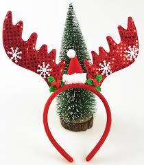 christmas headbands 1pcs christmas headband big antlers with snowflake sequins