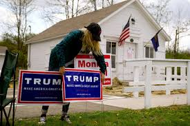 Donald Trump Home by Donald Trump Wins Presidency In Jolting Upset Of Hillary Clinton