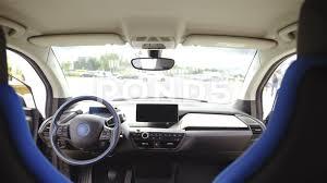 futuristic cars interior futuristic car interior view with dashboard in focus 4k footage