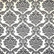 black and white wrapping paper black white damask gift wrap say it in style gifting