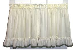 Ruffled Kitchen Curtains by Ruffled Swag Curtains U0026 Country Ruffled Swags Window Toppers