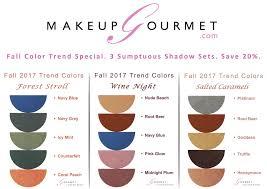 fall color trend makeup specials save 20 26 makeup gourmet