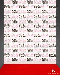 wedding backdrop name carpet backdrop newlyweds names large vinyl backdrop for