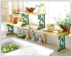 Kitchen Sink Shelf Organizer by Over The Sink Shelf Kitchen Home Design Ideas