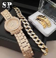 bracelet diamond watches images The boss bling box iced out lab diamond watch cuban bracelet jpg