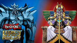 yu gi oh legacy of the duelist online duels egyptian gods v s