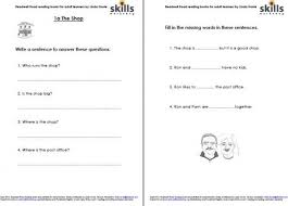 activity sheets readwell road 1a shop skills workshop