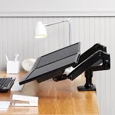 ergotron lx hd wall mount swing arm amazon com amazonbasics premium dual monitor stand lift engine