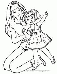 barbie coloring pages only coloring pages regarding free barbie