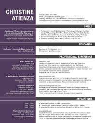Experience Web Designer Resume Sample by Architecture Student Resume Sample Resume For Your Job Application
