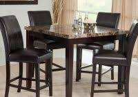 hillsdale cameron dining table hillsdale cameron 5 piece counter height round wood dining table