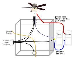 fan light switch wiring diagram