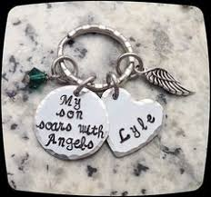 Personalized Remembrance Gifts Remembrance Gift Necklace I Used To Be Their Angel Now They U0027re