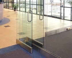 tempered glass door hardware crl arch glass entrance doors
