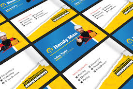 handyman business card template for photoshop u0026 illustrator