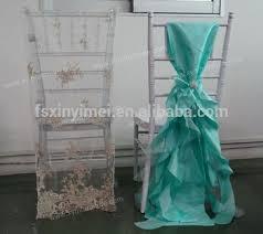 cheap chair cover cheap fancy ruffled chiavari chair cover for wedding wedding