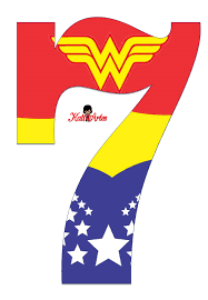 free printable women alphabet letters super hero girls