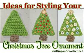Easy Christmas Tree Decorations Easy Christmas Tree Ornament To Crochet U2013 Knitting And Crochet