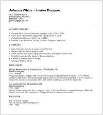 interior design resume examples hitecauto us