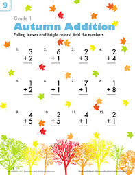autumn worksheets leaves pumpkins and scarecrows oh my