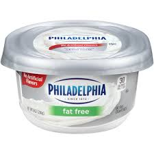 light sour cream nutrition kraft philadelphia fat free cream cheese from stater bros instacart