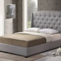 Tufted Linen Headboard by Bedroom Gray Velvet Headboard Combined Tufted Footboard And