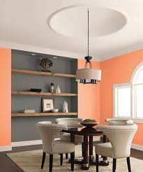 color of the month august 2015 cadmium orange rustic shelves